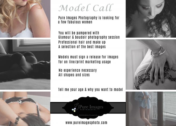 New Glasgow Model Call Boudoir Photography