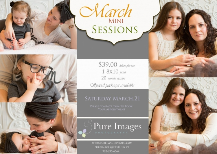 March Mini Sessions